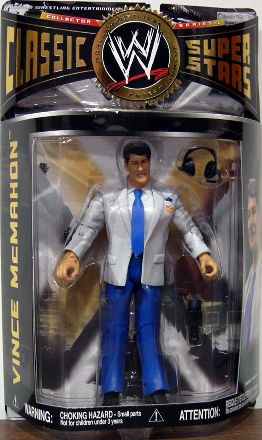 Vince McMahon WWE Classic Super Stars Series 16 action figure