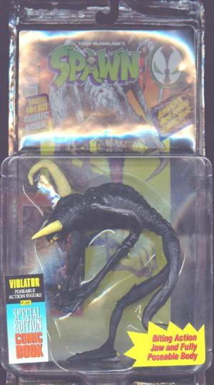 Violator Black Repaint Spawn action figure