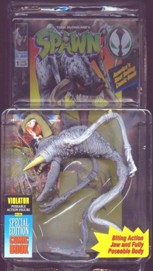 Violator Chromium Card Spawn action figure