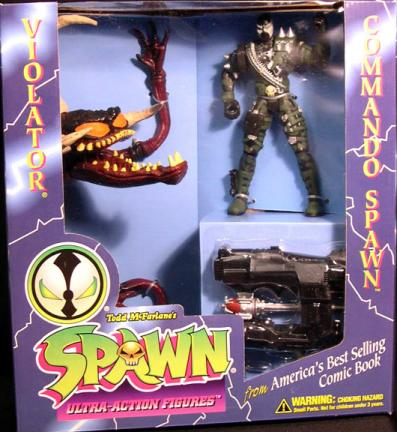 Commando Spawn vs Violator 2-Pack