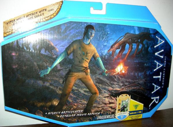 Viper Wolf Attack Avatar Jake Sully action figures