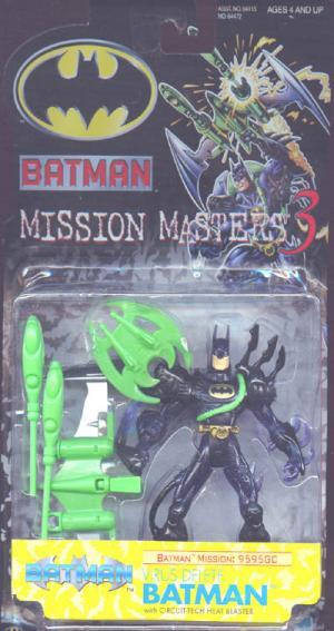 Virus Delete Batman Mission Masters 3 action figure