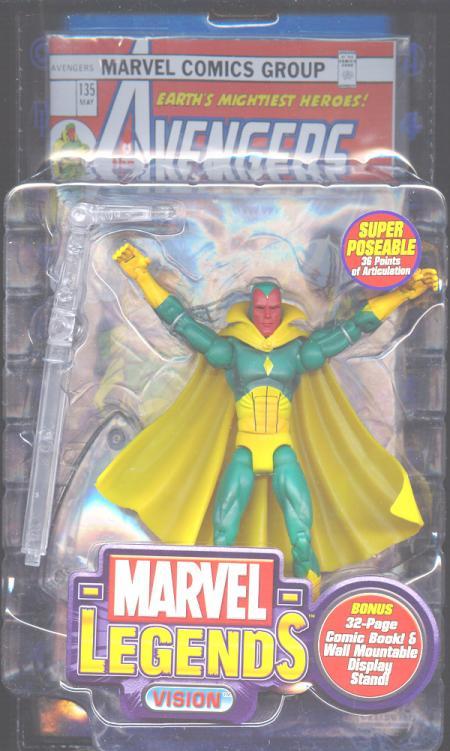 Vision Marvel Legends Series VII action figure