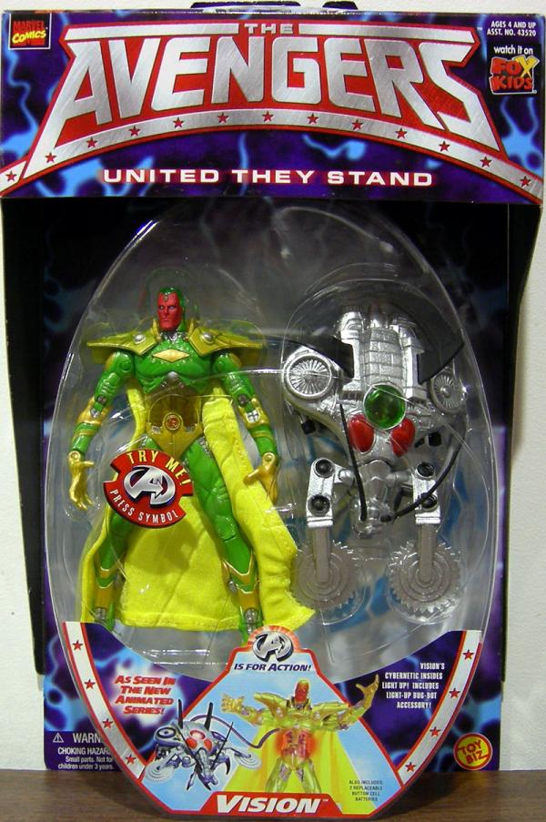 Vision Avengers Animated Series action figure