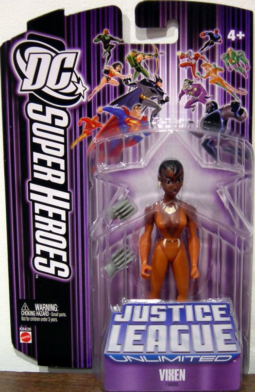 Vixen DC SuperHeroes Justice League Unlimited aciton figure