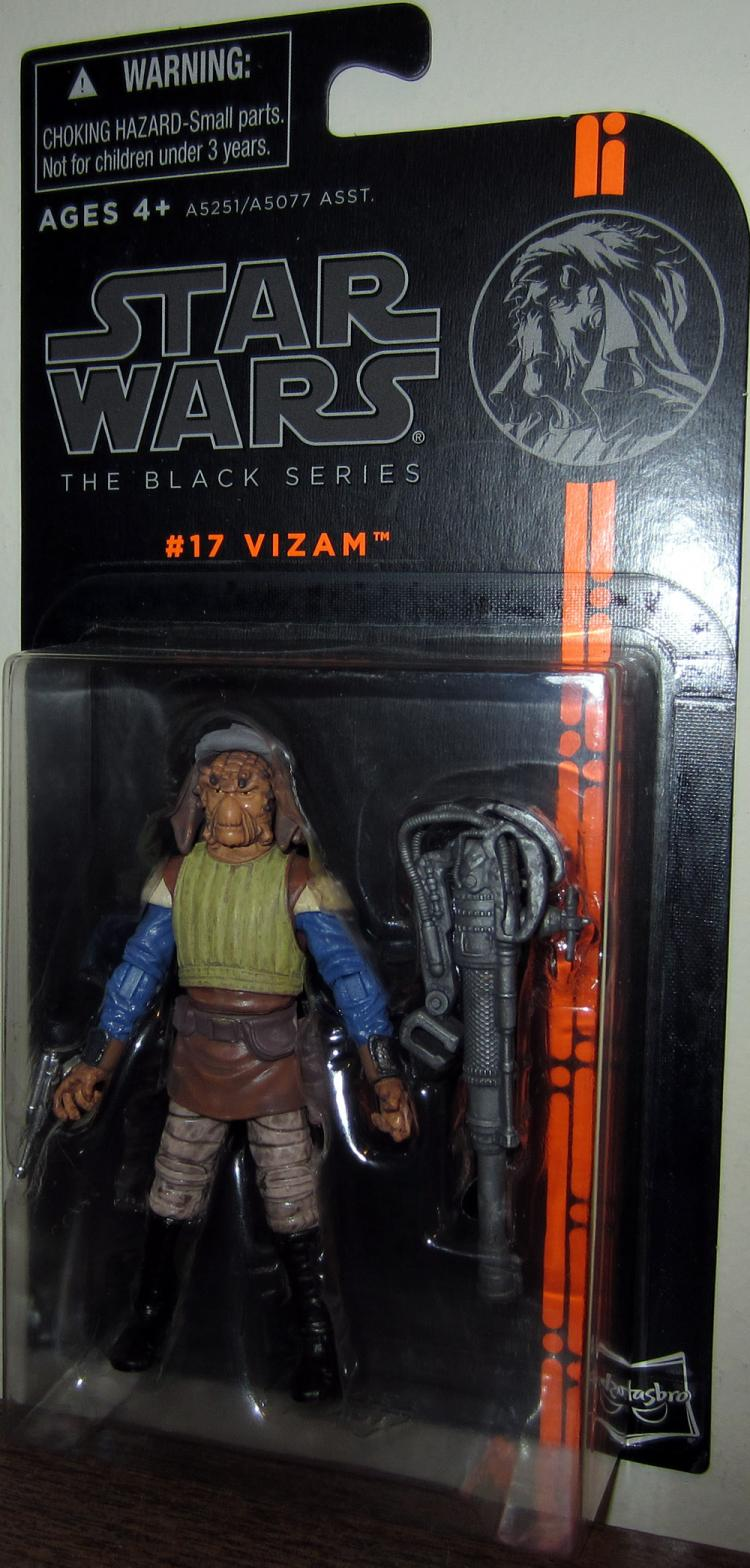 Vizam Action Figure Black Series 17 Star Wars Hasbro