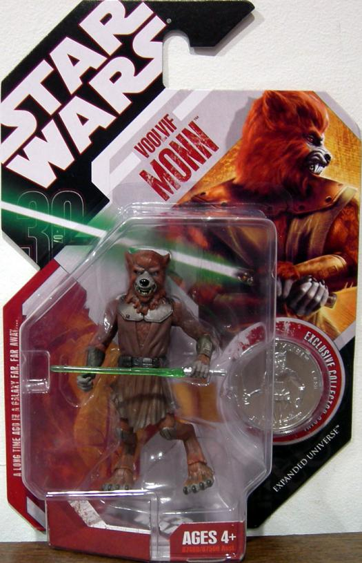 Voolvif Monn Action Figure 30th Anniversary 58 Star Wars Expanded Universe