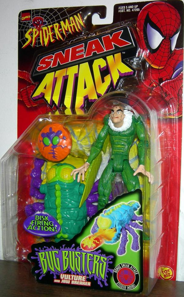 Vulture Bug Busters Spider-Man Sneak Attack action figure