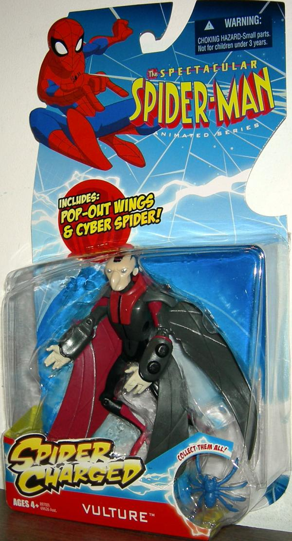 Vulture Spectacular Spider-Man Spider Charged action figure