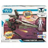 V-wing Fighter Pilot Clone Wars Star Toys R Us action figure vehicle