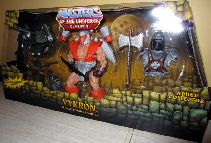 Vykron Space Ace Masters Universe Classics action figure