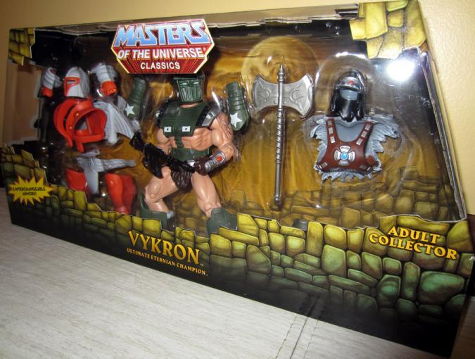 Vykron Tank Top Figure Masters Universe Classics Mattel