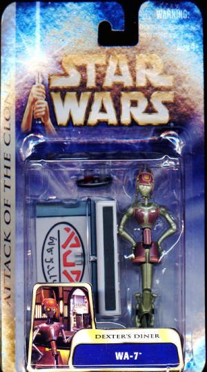 WA-7 Dexters Diner Star Wars Attack Clones action figure