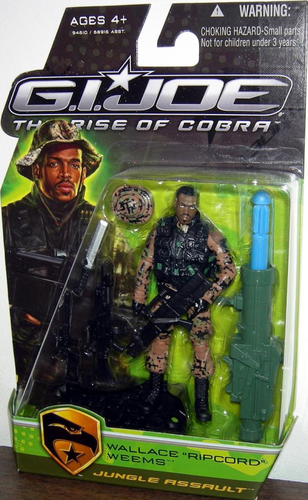 Wallace Ricpcord Weems Jungle Assault GI Joe Rise Cobra action figure