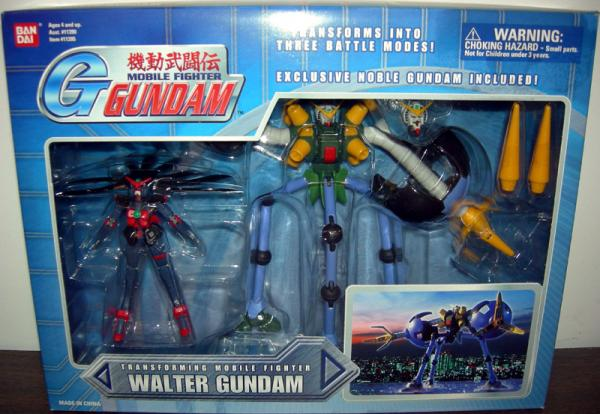 Walter Gundam Boxed Transforming Mobile Fighter action figure
