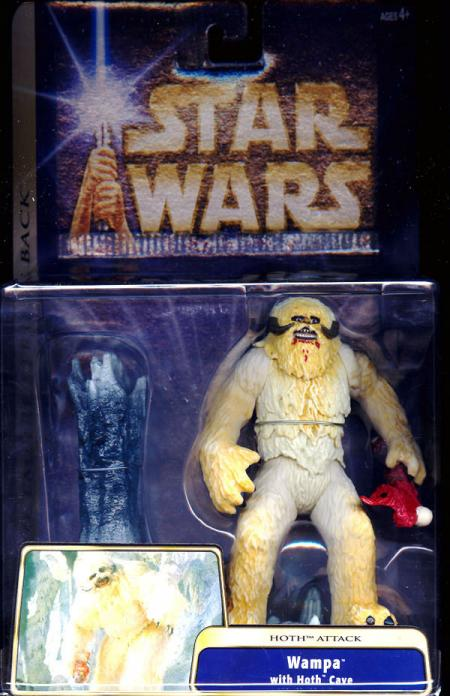 Wampa Hoth Cave Attack Star Wars Empire Strikes Back action figure
