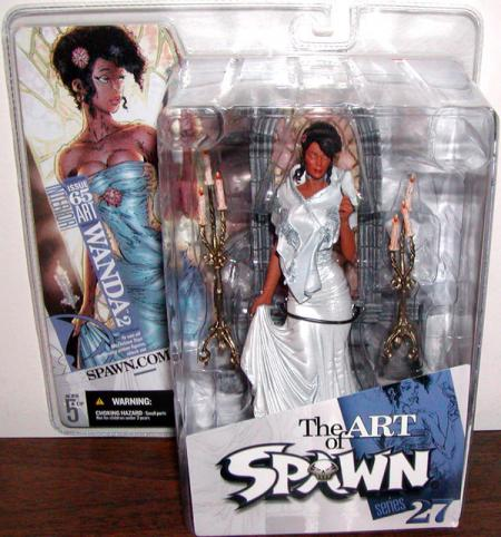 Wanda 2 Art Spawn Series 27 Issue 65 action figure