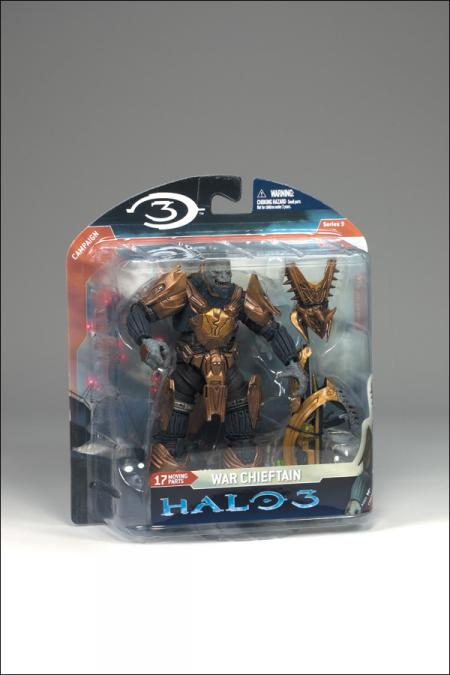 War Chieftain Halo 3 Series 3 Campaign action figure