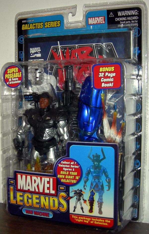 War Machine Marvel Legends Galactus Series action figure