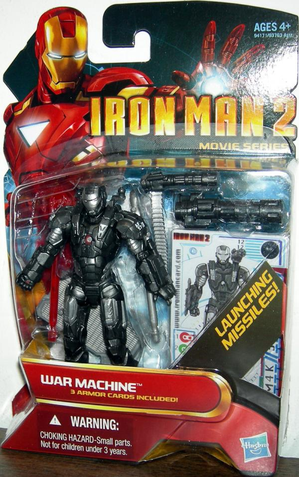 War Machine 12 Action Figure Iron Man 2 Movie Series
