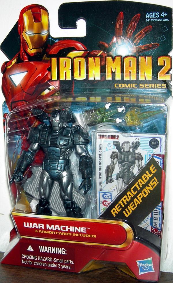 War Machine 23 Iron Man 2 Comic Series action figure