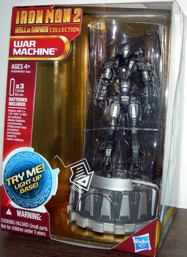 War Machine Iron Man 2 Hall Armor Collection action figure