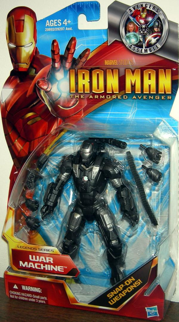 War Machine Figure Armored Avenger Legends Series