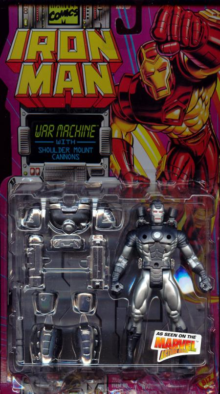 War Machine Shoulder Mount Cannons Iron Man Animated action figure