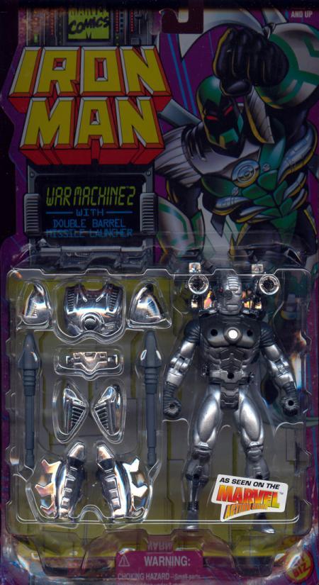 War Machine 2 Double Barrel Missile Launcher Iron Man action figure