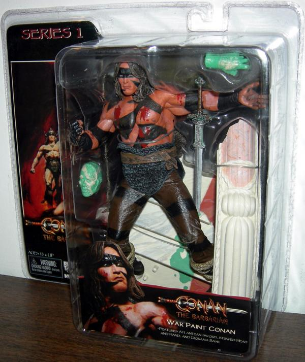 War Paint Conan Barbarian Series 1 action figure