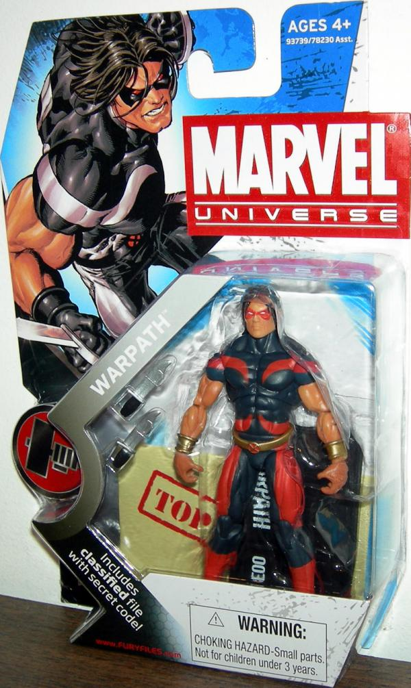 Warpath Marvel Universe Series 2 003 Variant action figure