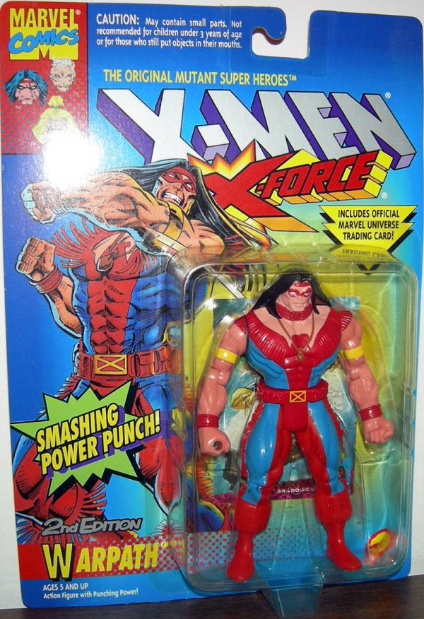 Warpath 2nd Edition Action Figure Smashing Power Punch X-Men X-Force