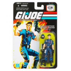 Warrant Officer Cobra Disguise Code Name Flint 2 action figure