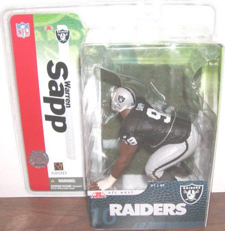 Warren Sapp McFarlane SportsPicks Oakland Raiders action figure