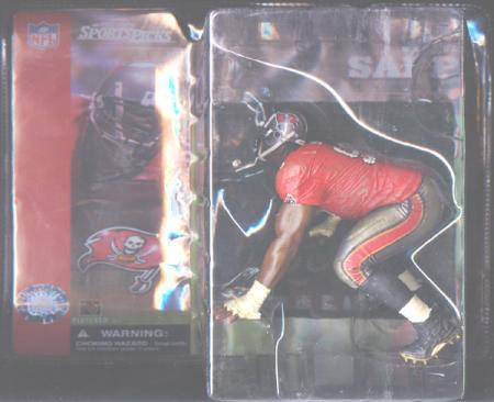 Warren Sapp McFarlane SportsPicks Tampa Bay Buccaneers action figure