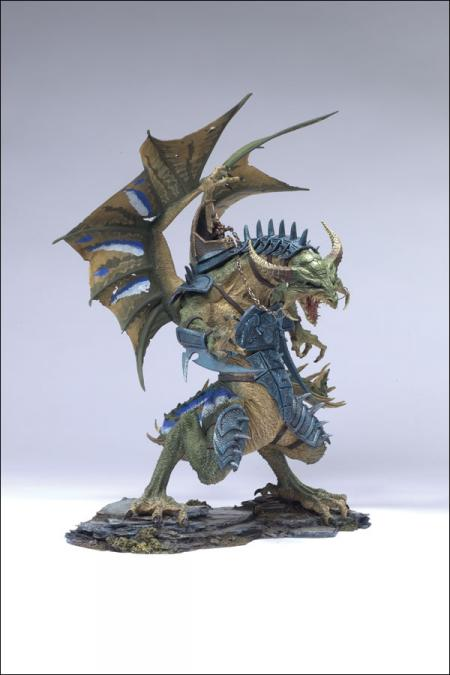 Warrior Dragon Clan Fall Dragons Series 6 action figure