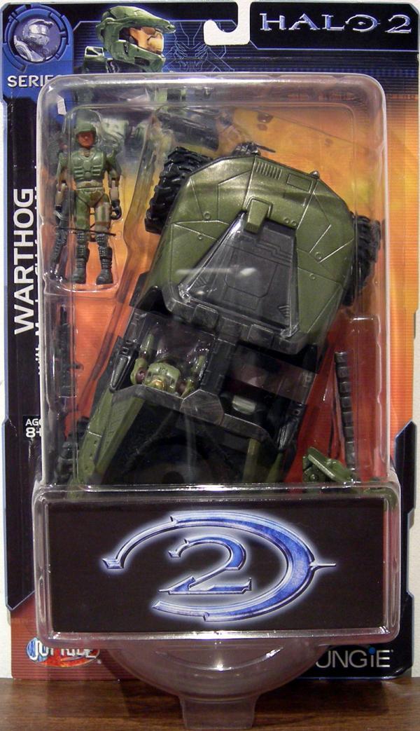 Warthog Halo 2 Series 1 action figure vehicle