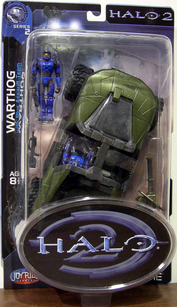 Warthog Halo 2 Series 2 action figure vehicle
