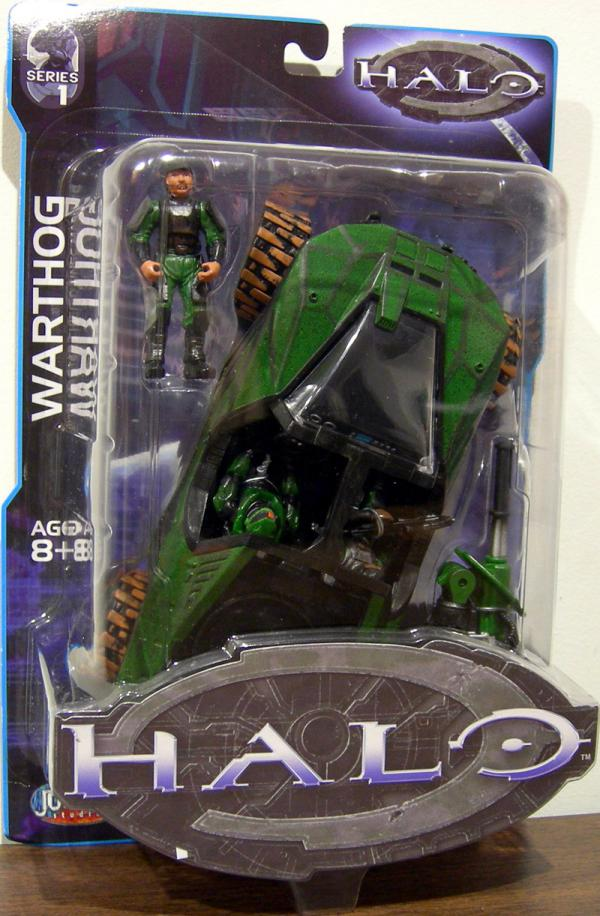 Warthog Halo Series 1 action figure vehicle
