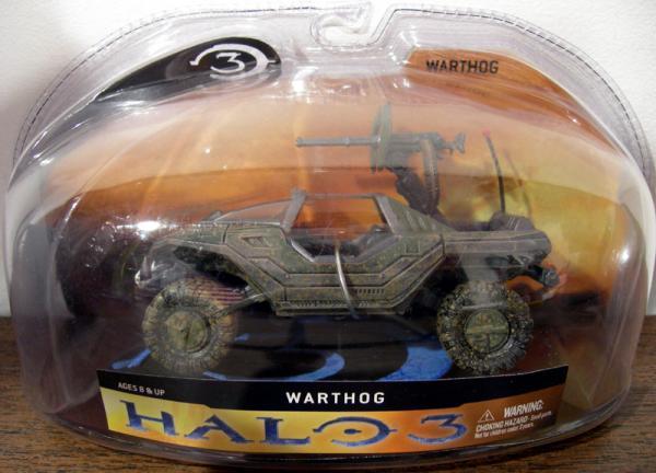Warthog Halo 3 action figure vehicle