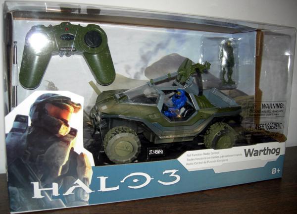 Warthog Radio Controlled Halo 3 action figure vehicle