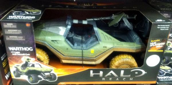 Warthog Halo Reach Toys R Us Exclusive vehicle
