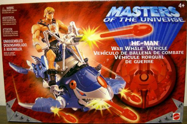 He-Man War Whale Vehicle Masters Universe Mattel