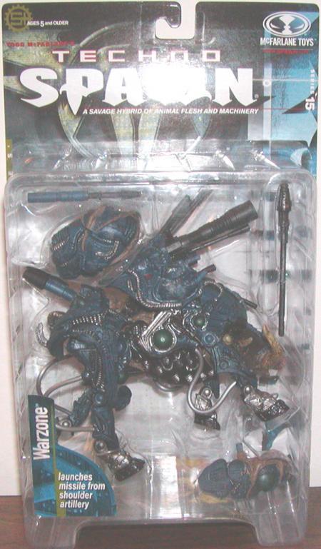 Warzone Techno Spawn Series 15 action figure
