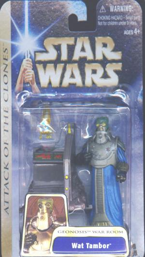 Wat Tambor Geonosis War Room Star Wars action figure