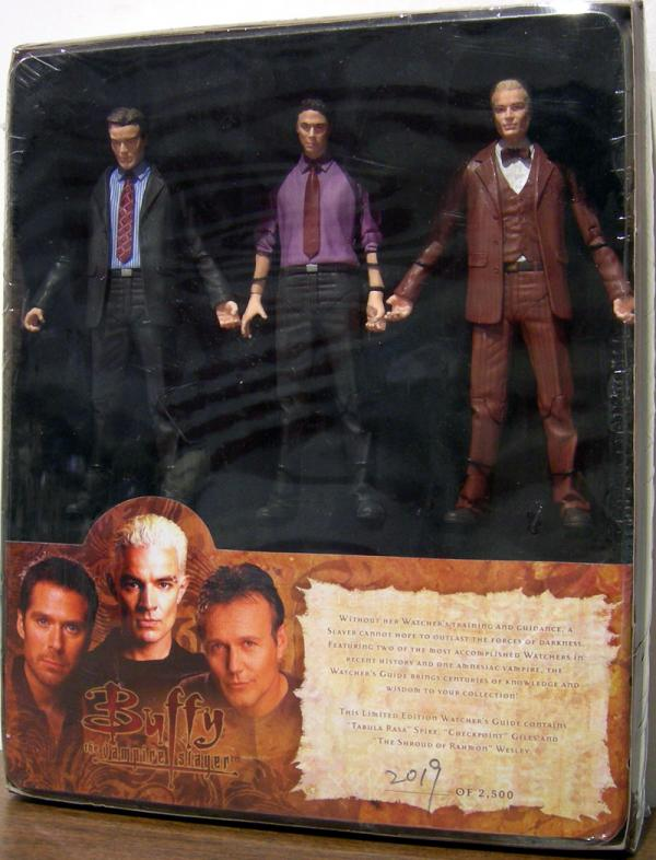 Watchers Guide 3-Pack Buffy Vampire Slayer action figures