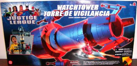 Watchtower Justice League playset