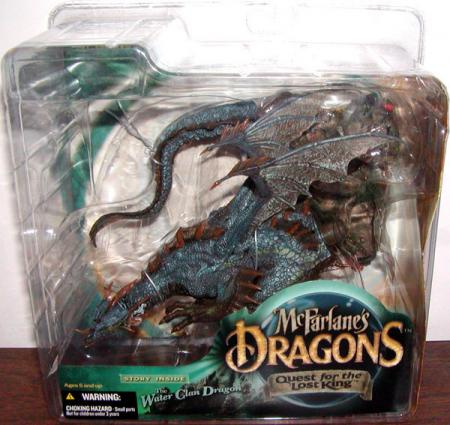 Water Clan Dragon McFarlanes Dragons Quest Lost King action figure