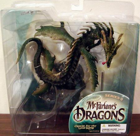 Water Dragon Clan 2 McFarlanes Dragons Quest Lost King action figure