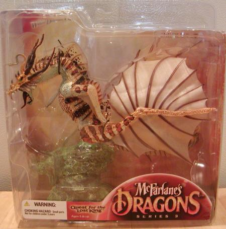 Water Dragon Clan 3 McFarlanes Dragons Quest Lost King action figure